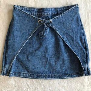 Kendall and Kylie Denim Skirt
